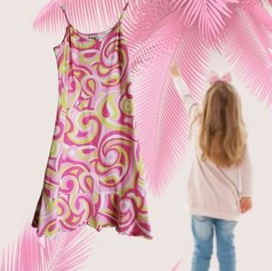 🐞 girlfriends by amitag pink dress size 7